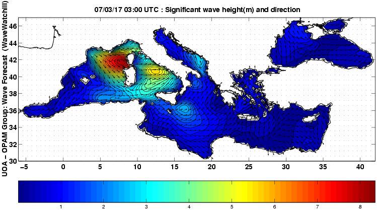 UOA Mediterráneo 0 horas