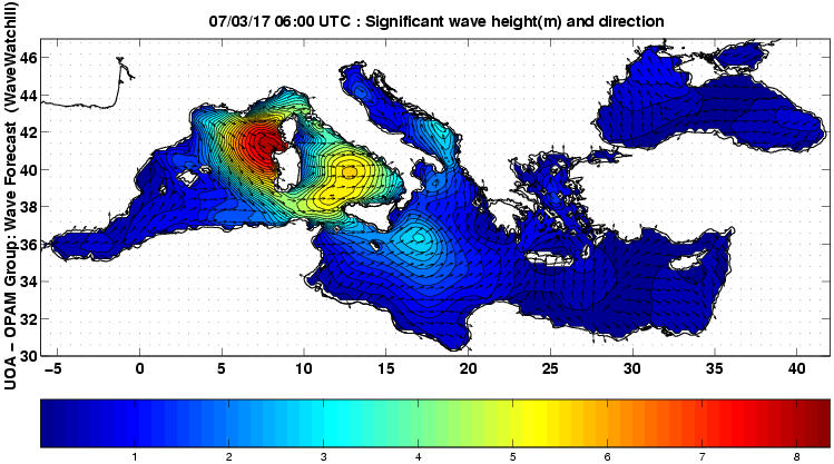 UOA Mediterráneo 3 horas