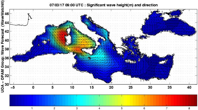 UOA Mediterráneo 6 horas