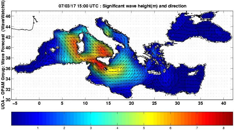 UOA Mediterráneo 12 horas