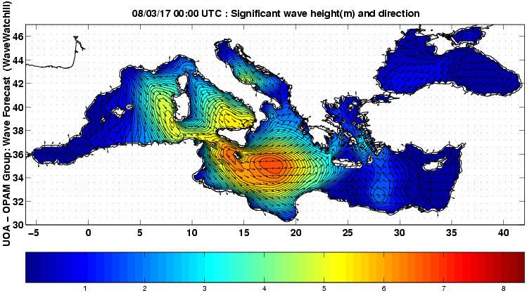 UOA Mediterráneo 21 horas