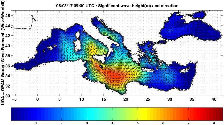 UOA Mediterráneo 30 horas