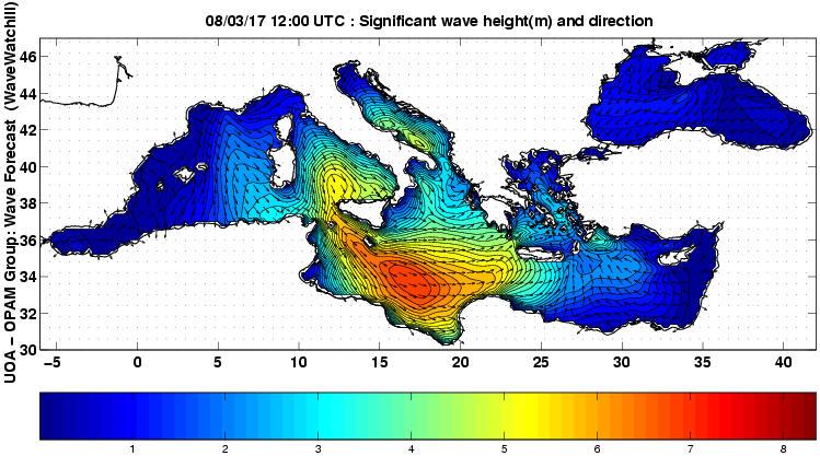 UOA Mediterráneo 33 horas