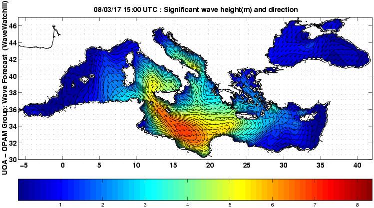 UOA Mediterráneo 36 horas
