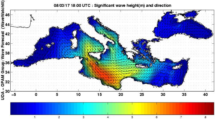 UOA Mediterráneo 39 horas