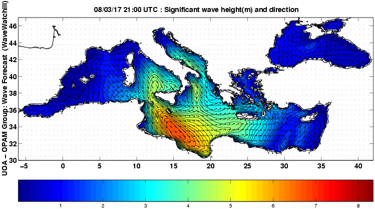 UOA Mediterráneo 42 horas