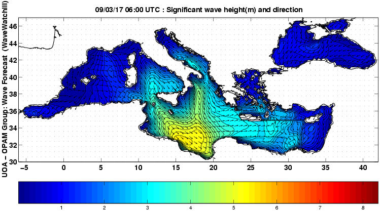 UOA Mediterráneo 51 horas