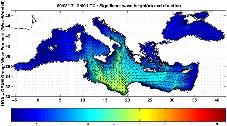 UOA Mediterráneo 57 horas